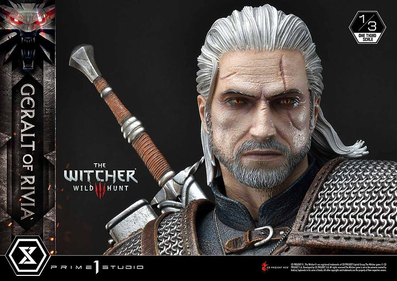 Prime 1 Studio 1/3 : Geralt of Rivia (The Witcher 3: Wild Hunt)