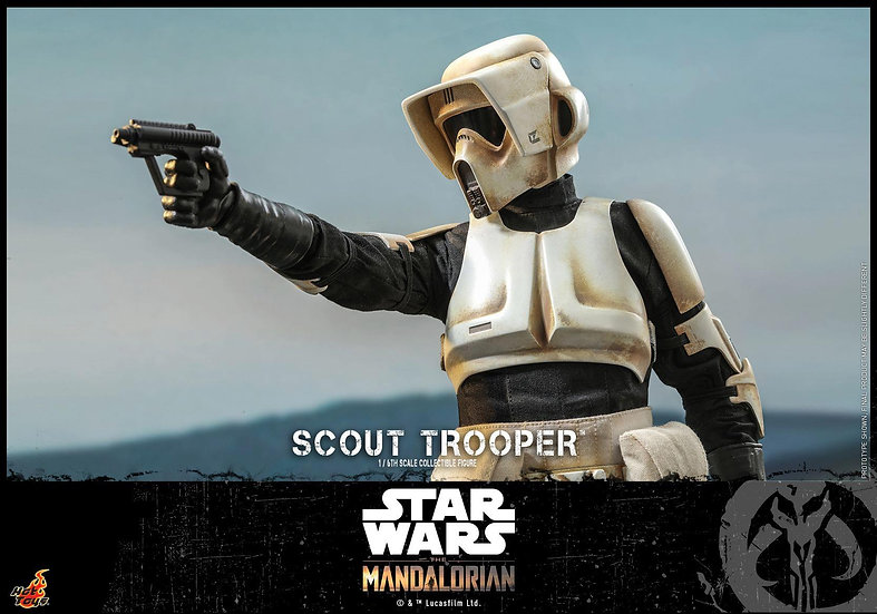 Hot Toys 1/6 : THE MANDALORIAN SCOUT TROOPER