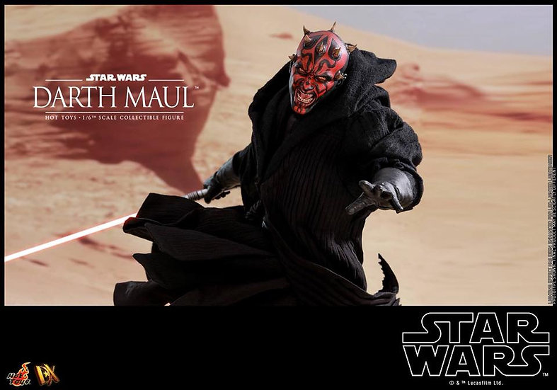 Hot Toys : STAR WARS EPISODE I : THE PHANTOM MENACE DARTH MAUL