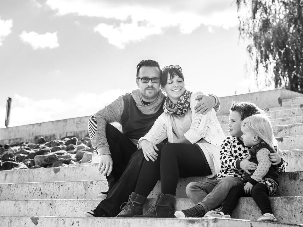 Family-Time an der Weser