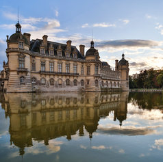 Ambiance of the Château de Chantilly