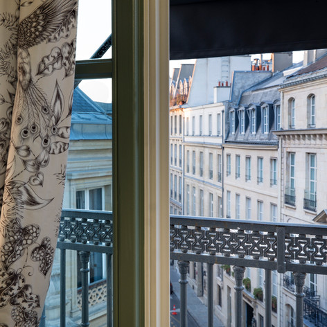 The view from our Paris rooms