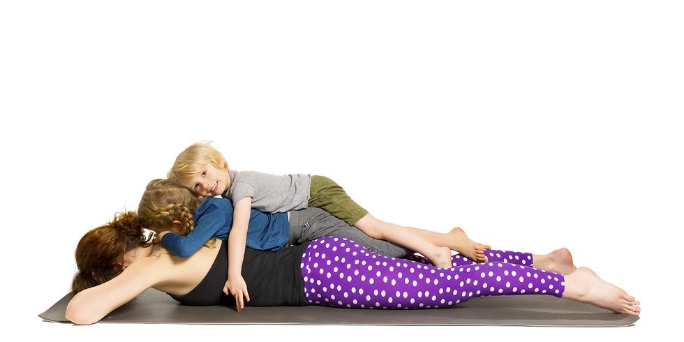 Family Yoga- Spring Edition