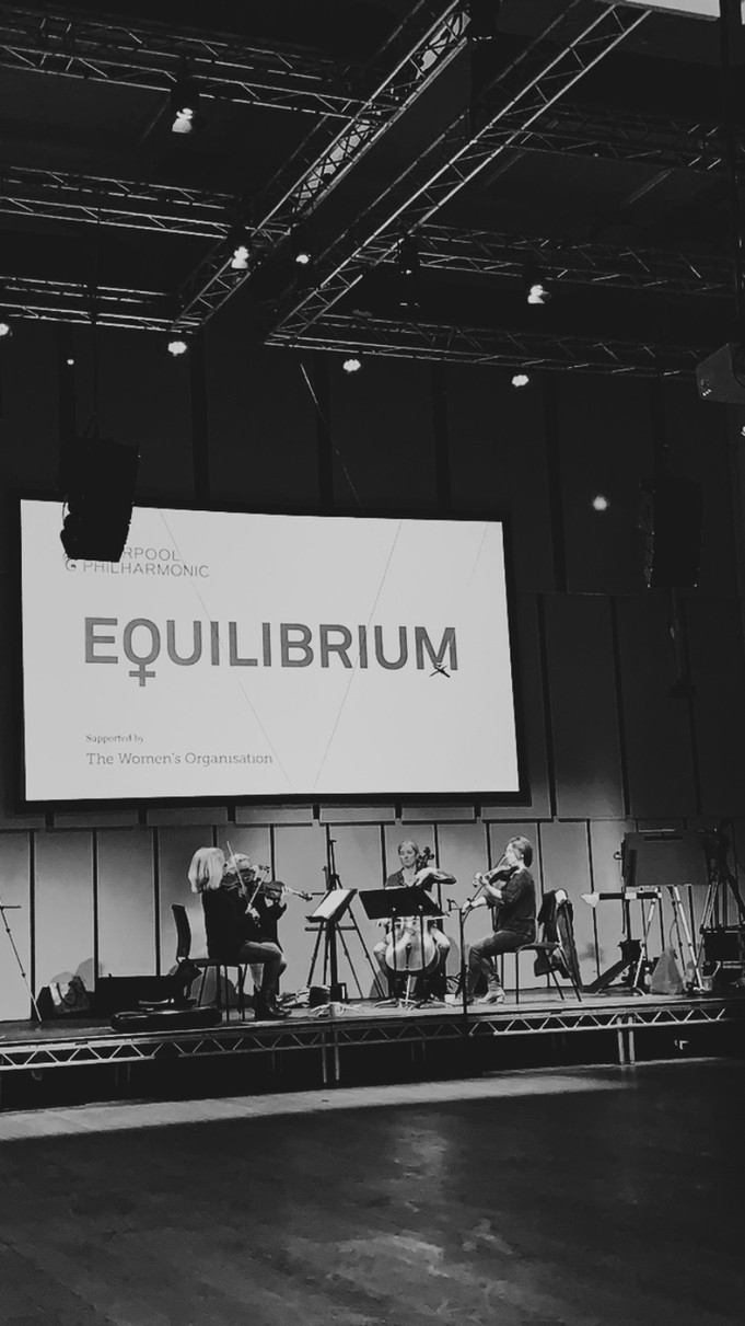 Liverpool Philharmonic Equilibrium Quartet - World Premiere of 'Incandescence I, II, III,' w