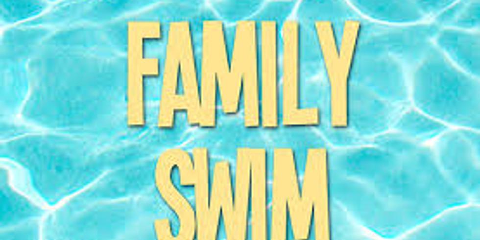 Sunday - Family Swim