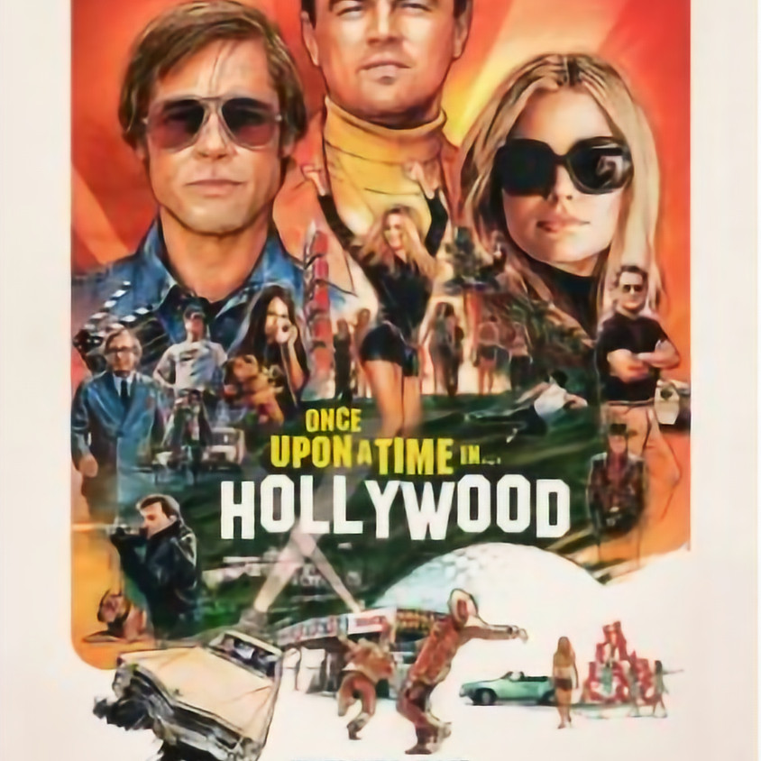 """Cine7 """"Once upon a Time ... in Hollywood""""    """"GEANNULEERD"""""""