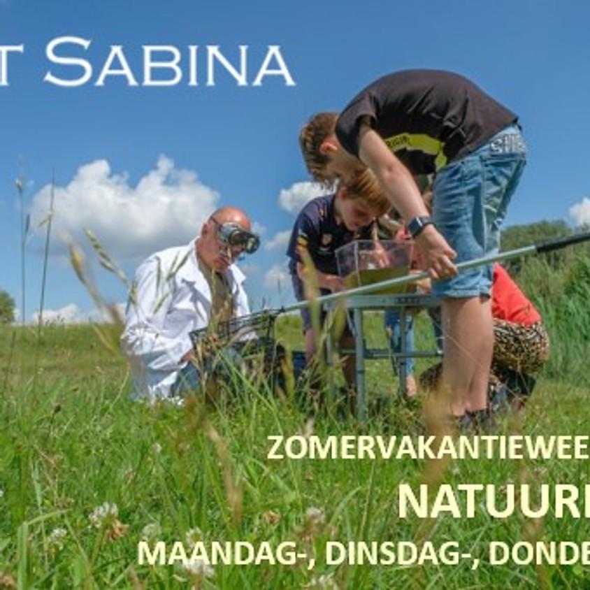 "Fort Sabina ""Natuurlab"" 26-27 en 29 Juli"
