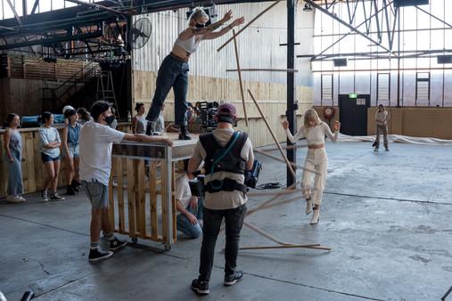 Gretta Ray Behind The Scenes