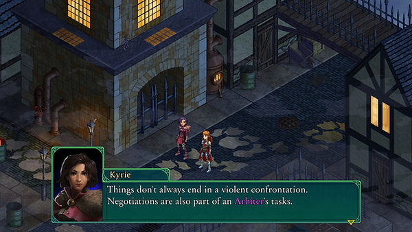 Fell Seal Arbiter's Mark game screen shot screenshot tactics tactical RPG crossroads map dialogue