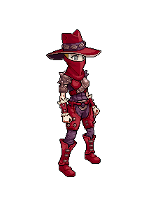 Fell Seal Arbiter's Mark video game sprite Gambler character