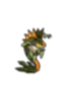 Fell Seal Arbiter's Mark video game sprite monter rakkerjak imp bounces on tail
