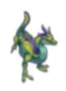 Fell Seal Arbiter's Mark video game sprite monter therva dragon