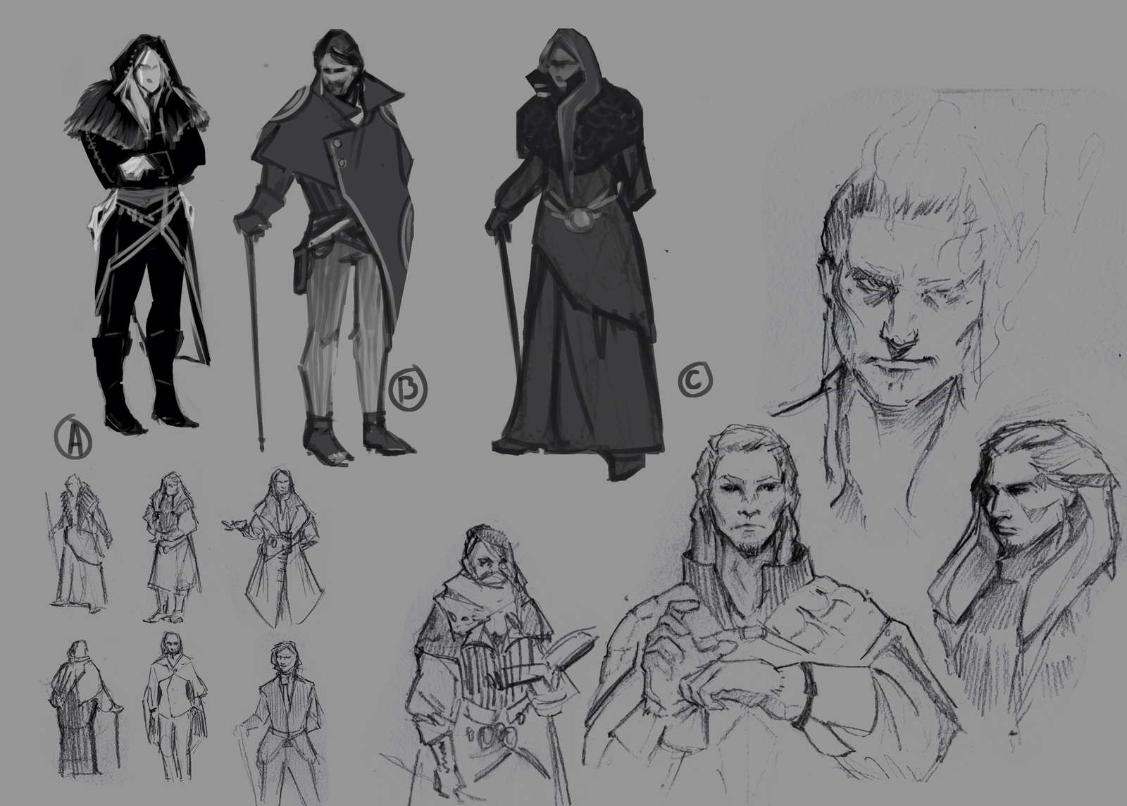 Yates sketches