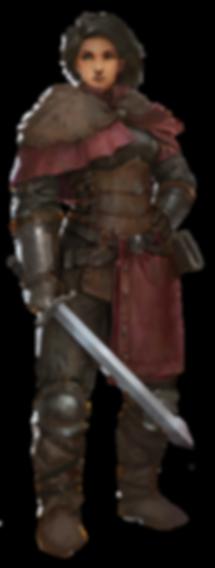 Fell Seal Arbiter's Mark main character concept art Kyrie protagonist female rio sabda