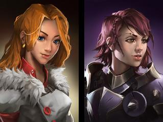 2 New Portraits