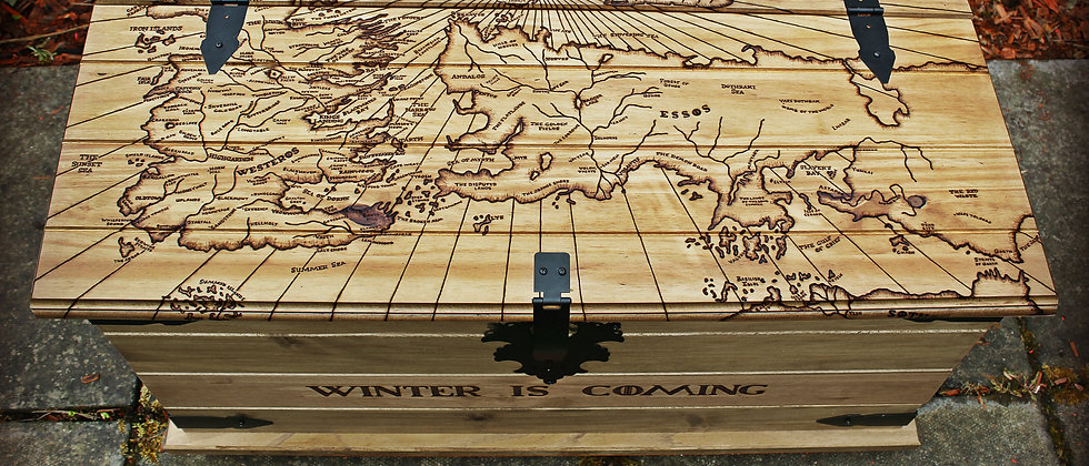 Game of Thrones Map Trunk