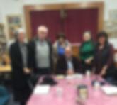 Rabbi Lewin's shiur meeting - RKL.JPG