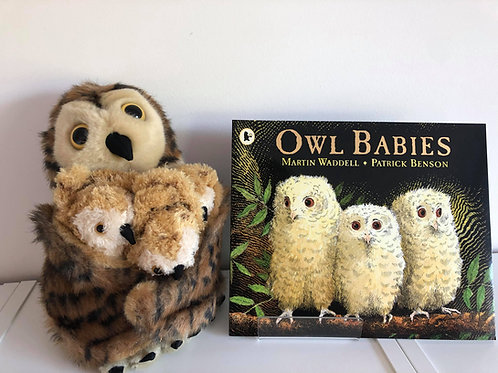Owl Babies - Book and Puppet