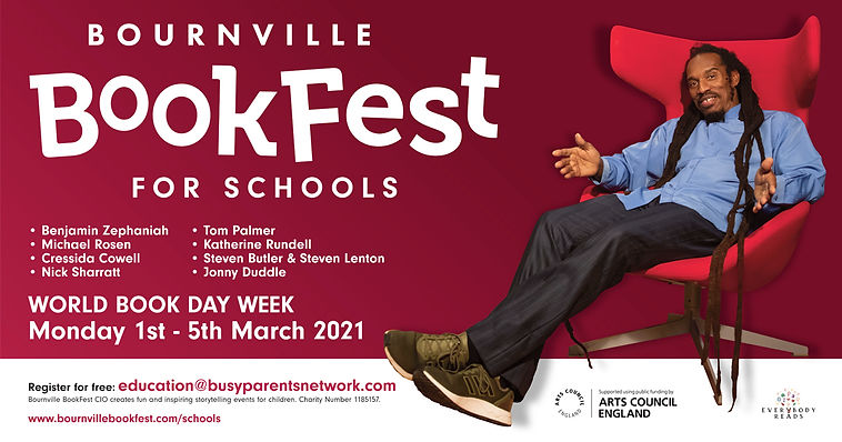 Bournville BookFest Save The Date FaceBo