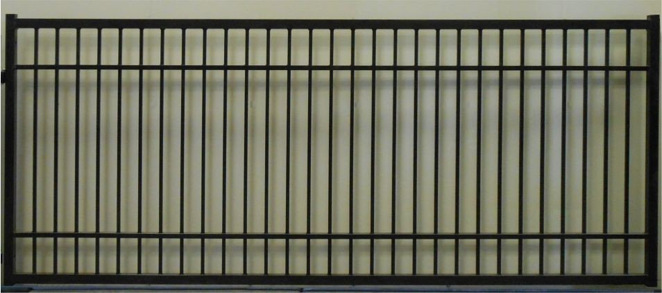 Plain Jane Rectangular Single Gate Commercial