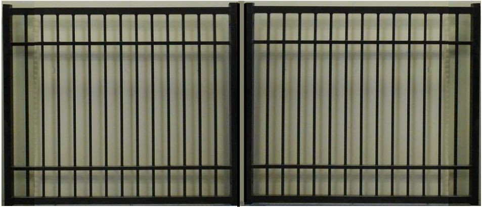Plain Jane Rectangular Double Gate Heavy Duty
