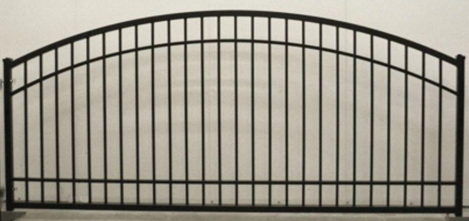 Plain Jane Arch Single Gate Commercial