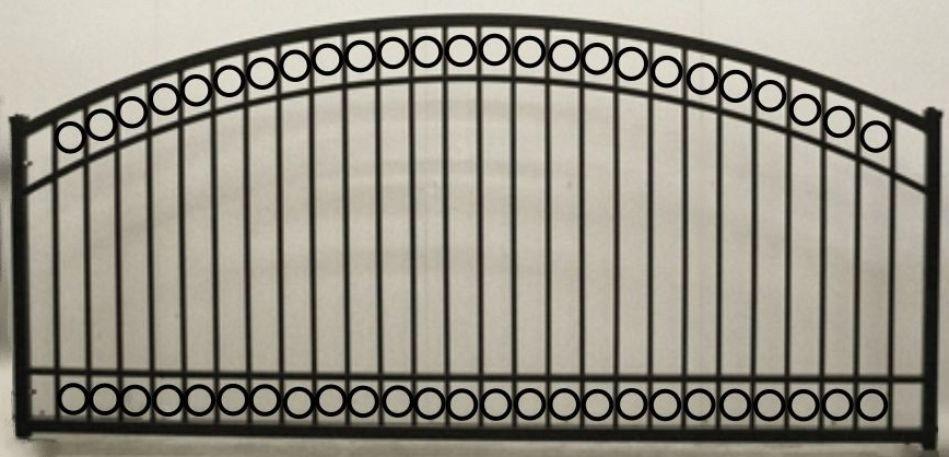 Circle Arch Single Gate Heavy Duty