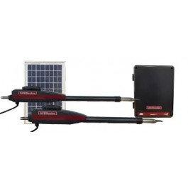 LiftMaster LA412 PKGDC Double Swing Solar