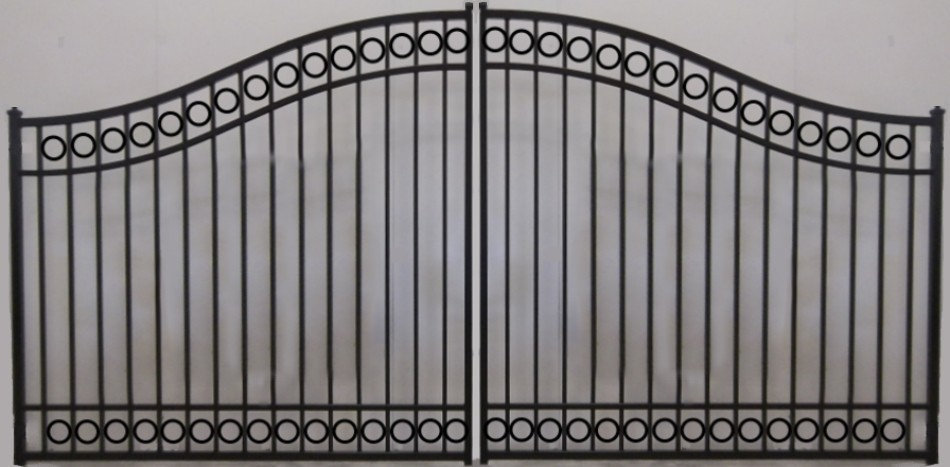 Circle Bell Double Gate Residential
