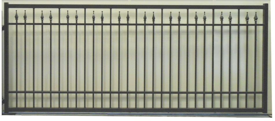 Princess Rectangular Single Gate Commercial