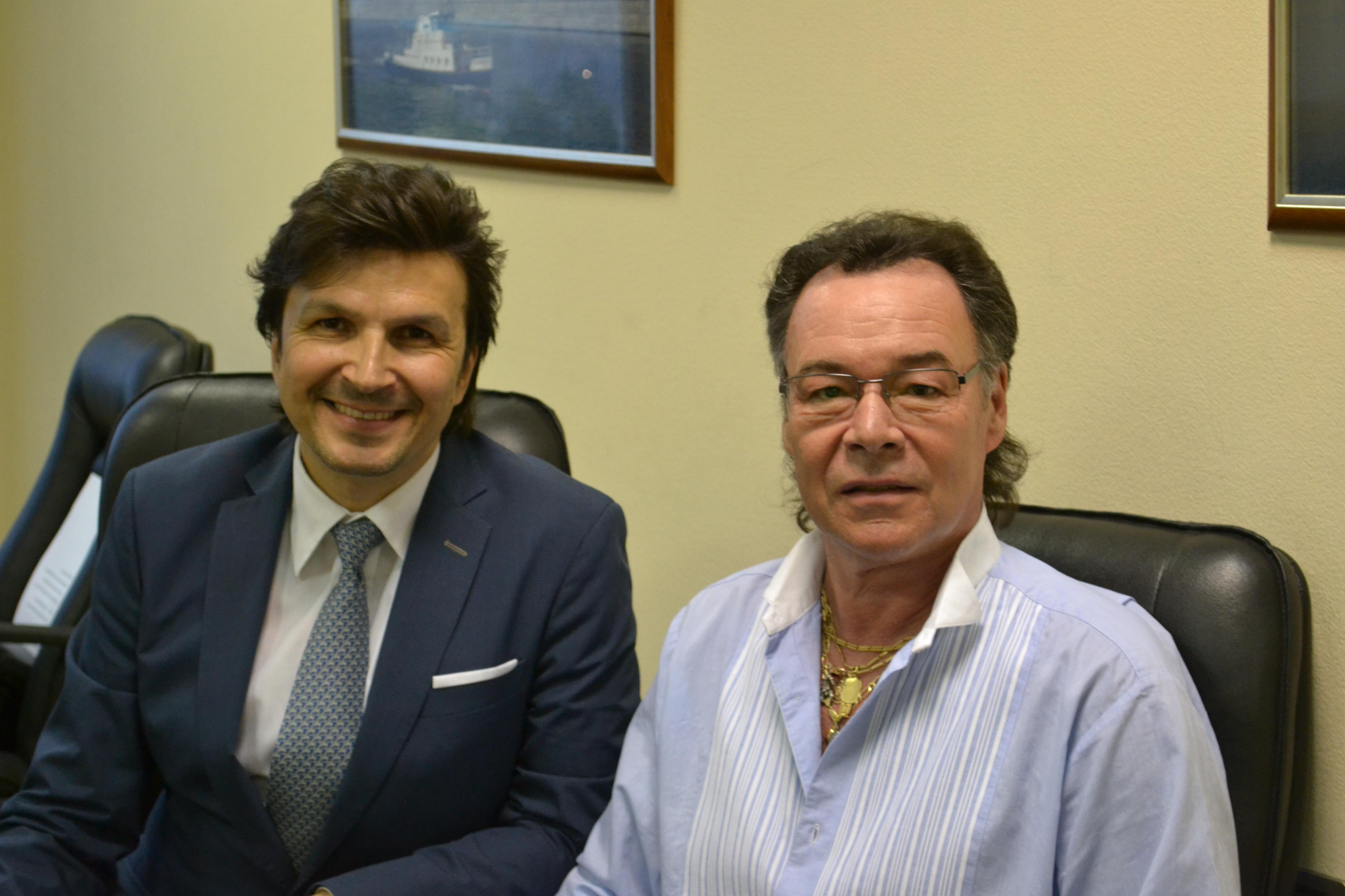 С Михаилом Муромовым