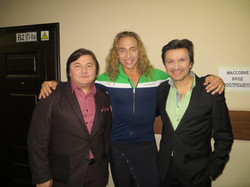 С Гия Гагуа и Сергеем Глушко