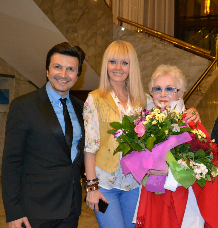 С Валерией и А.Шатиловой