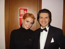 С Анастасией Стоцкой