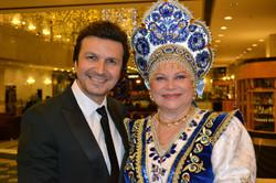 С Людмилой Рюминой