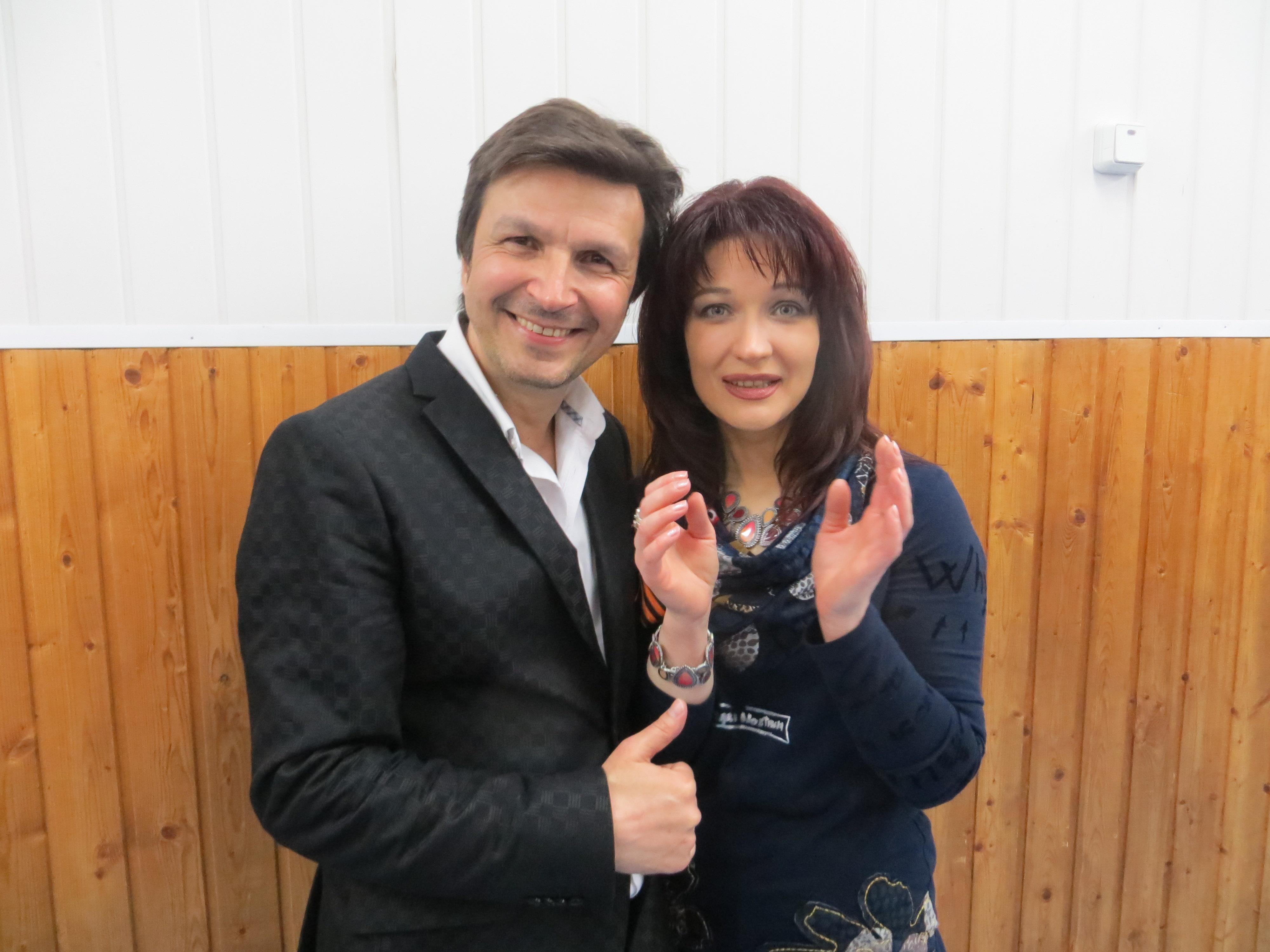 С Екатериной Болдышевой
