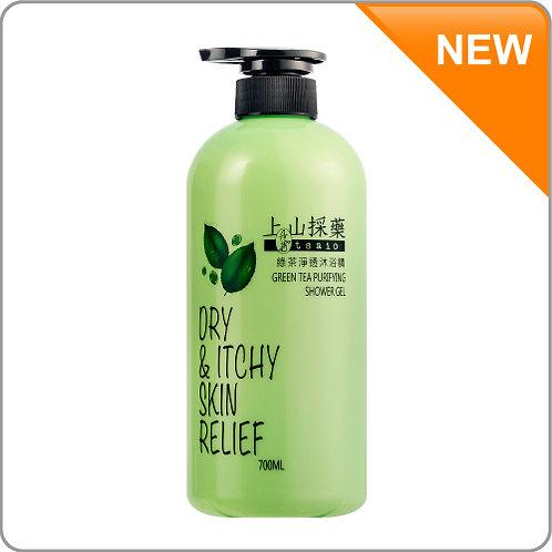 tsaio Green tea purifying shower gel 700ml