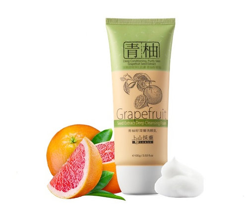 Grapefruit seed extract deep cleansing foam 100g