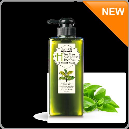 Tsiao Tea tree acne refresh body wash 600ml