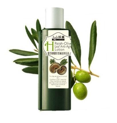 Reishi olive leaf anti-aging lotion 180ml
