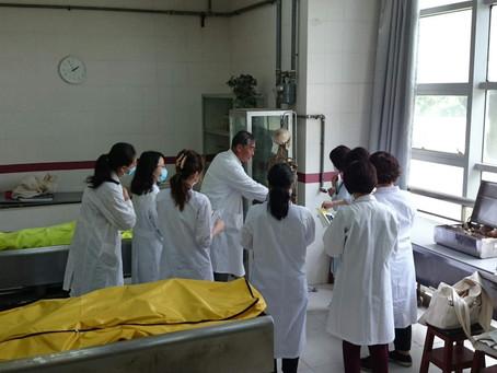 上海での中医薬大学短期研修