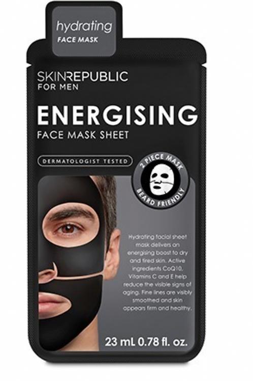Mens Energising Face Mask