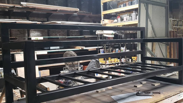 Steel Couch Frame