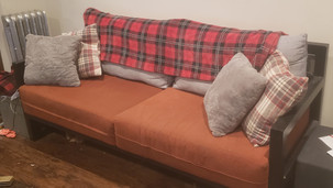 Steel Frame Couch