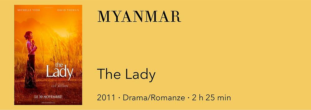 Film in Myanmar, Film über Myanmar, Film Burma, Film Birma, Film Aung San Suu Kyi
