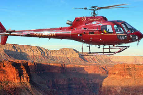 Fly like an eagle - mit dem Helicopter durch den Grand Canyon
