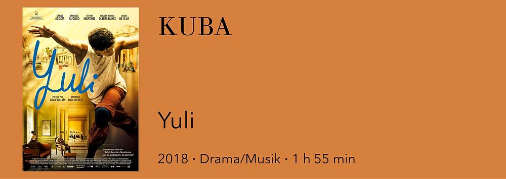 Film Kuba, Yuli, Ballettfilm