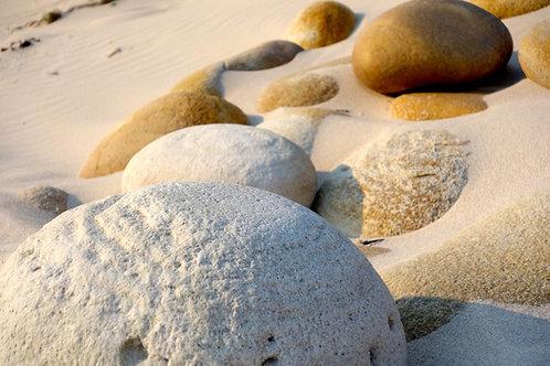 Strand Kap der Guten Hoffnung, schönster Strand Südafrika, Fotos Strandsteine