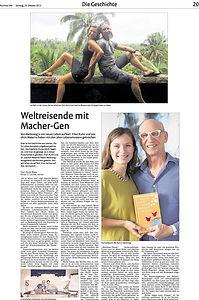 Weltreise-Traum Backnanger Kreiszeitung