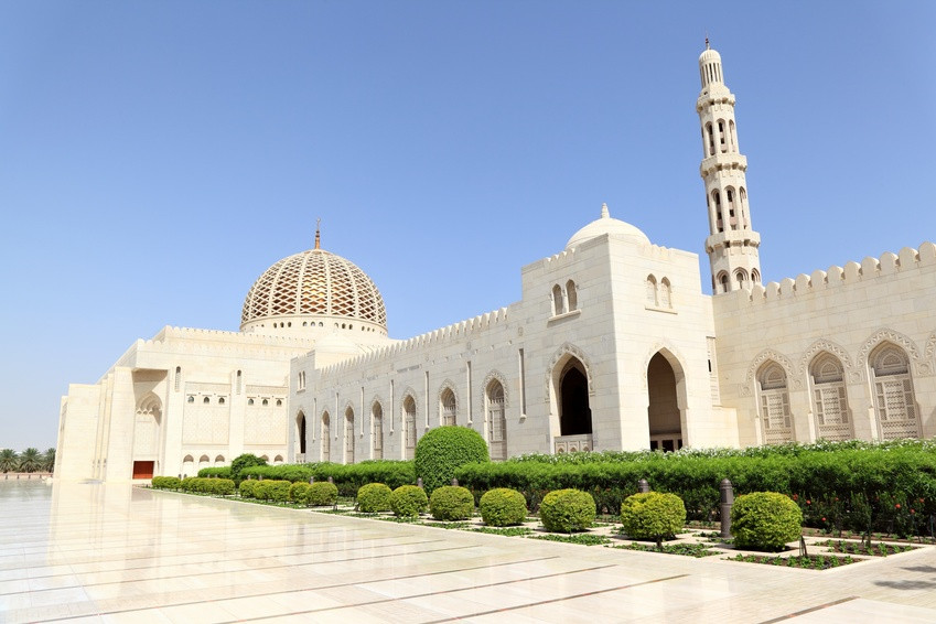 Sultan Quabus Moschee, Sultan Quabus Moschee Muscat, Reiseleiter Oman, Reiseleitung Oman, geführte Tour Oman